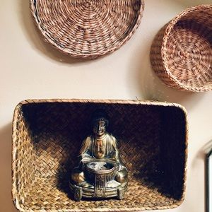 Other - Brass Buddha statue - made in Japan
